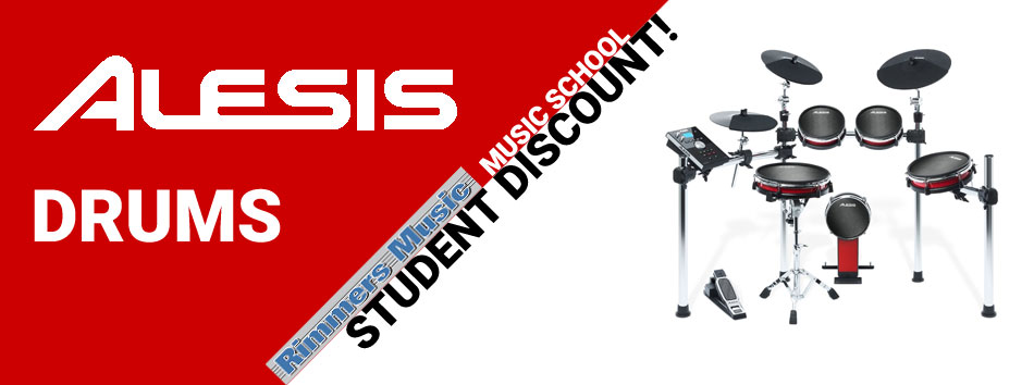 Alesis Student Discount Offer at Rimmers Music