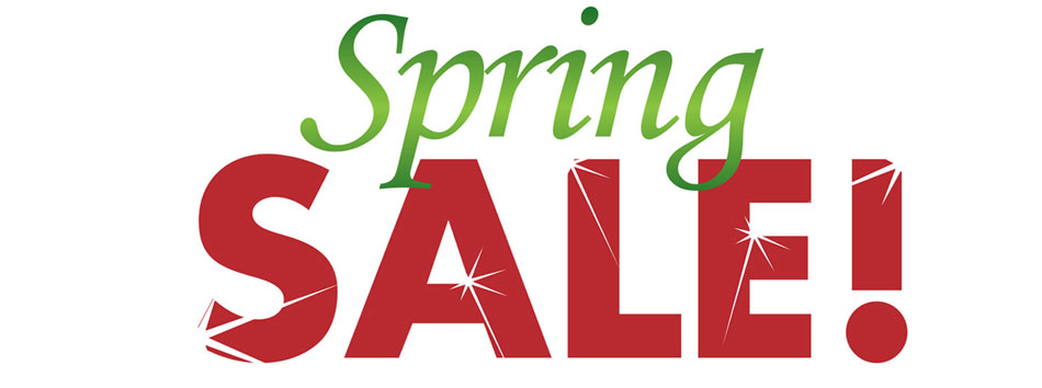 Spring Sale In Store at Rimmers Music
