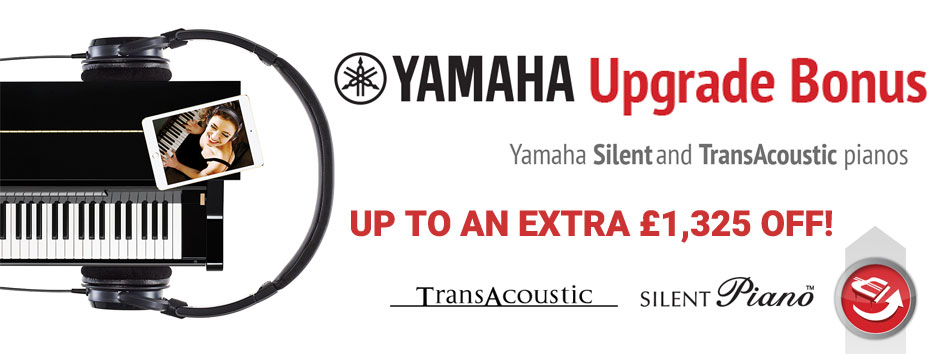 Yamaha Silent Upgrade 2017 at Rimmers Music