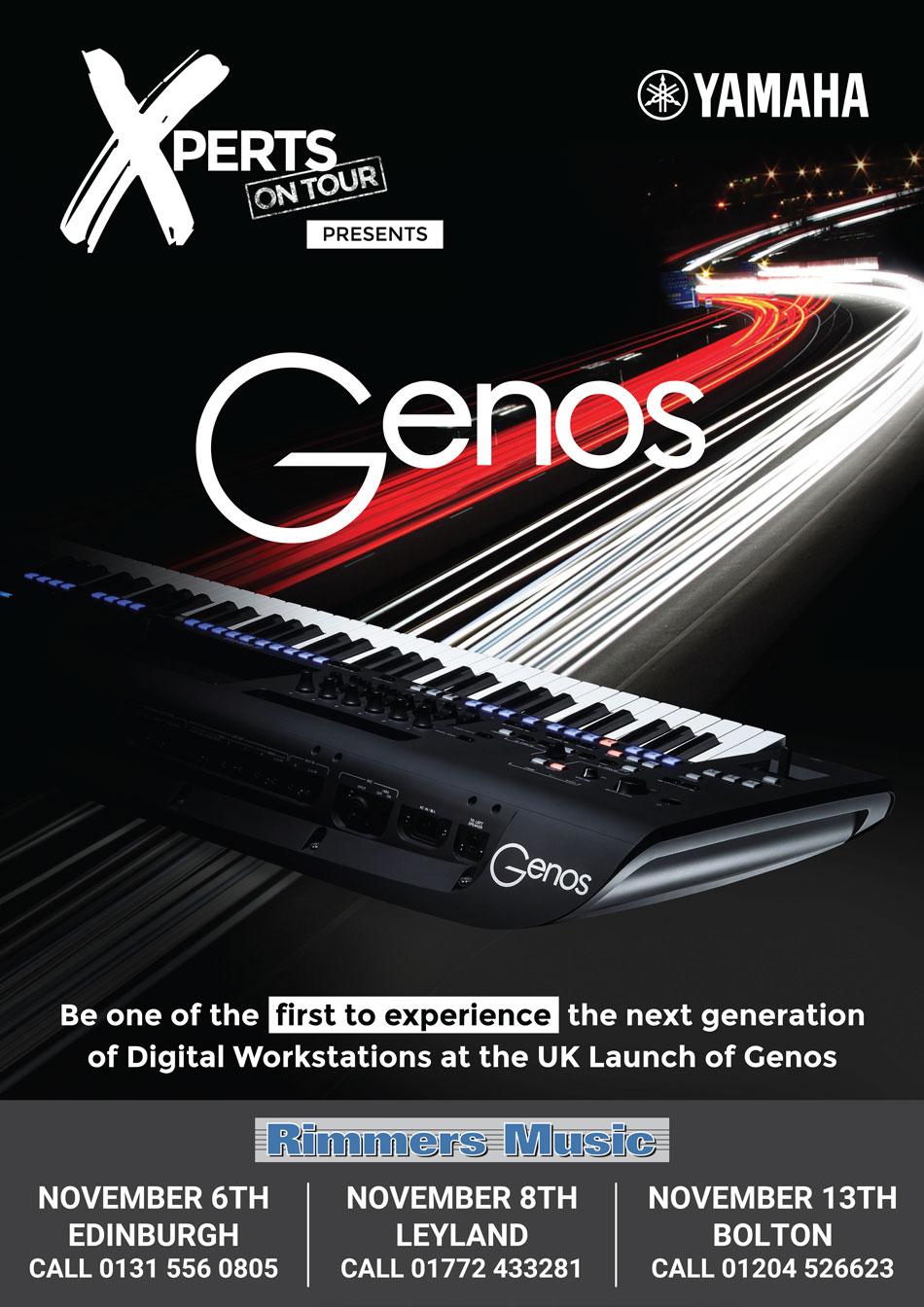 Yamaha Xperts On Toru Present Genos at Rimmers Music