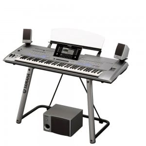 Yamaha Tyros 5: a top end keyboard available from Rimmers Music