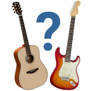 Rimmers Music Guide To Whether You Should Choose An Acoustic Or Electric Guitar