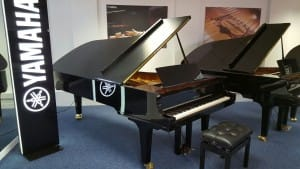 Yamaha CFX at Rimmers Music Bolton