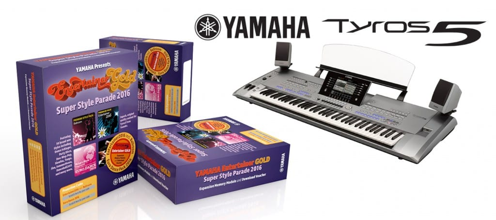 Yamaha Tyros5 Entertainer Gold Packs! | Rimmers Music | Blog