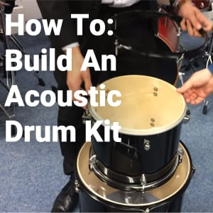 How To Build An Acoustic Drum Kit with Rimmers Music