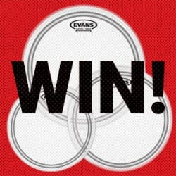 Evans Drumhead Competition at Rimmers Music Blog Image
