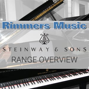Steinway & Sons at Rimmers Music Bolton