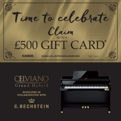 Casio time To Celebrate at Rimmers Music