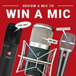 sE Electronics Reviews Giveaway at Rimmers Music