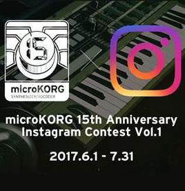 Korg microKORG Instagram Competition