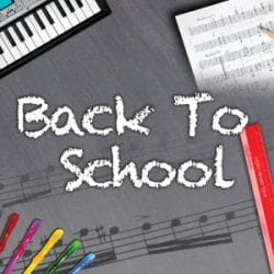 Back To School Sale at Rimmers Music
