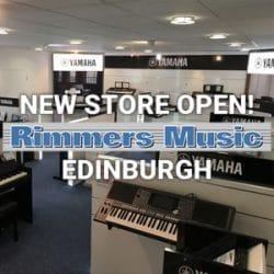 New Rimmes Music Store In Edinburgh