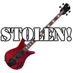 Stolen Spector Bass at Rimmers Music
