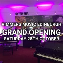 Edinburgh Grand Opening at Rimmers Music