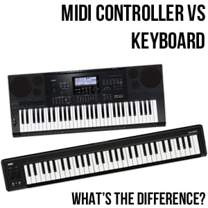 Midi Controller vs Keyboard | Rimmers Music | Blog