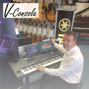 V consoole image in store