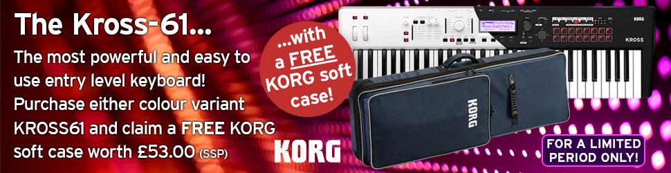 FREE Bonus Gear with KORG Workstation | Rimmers Music | Blog