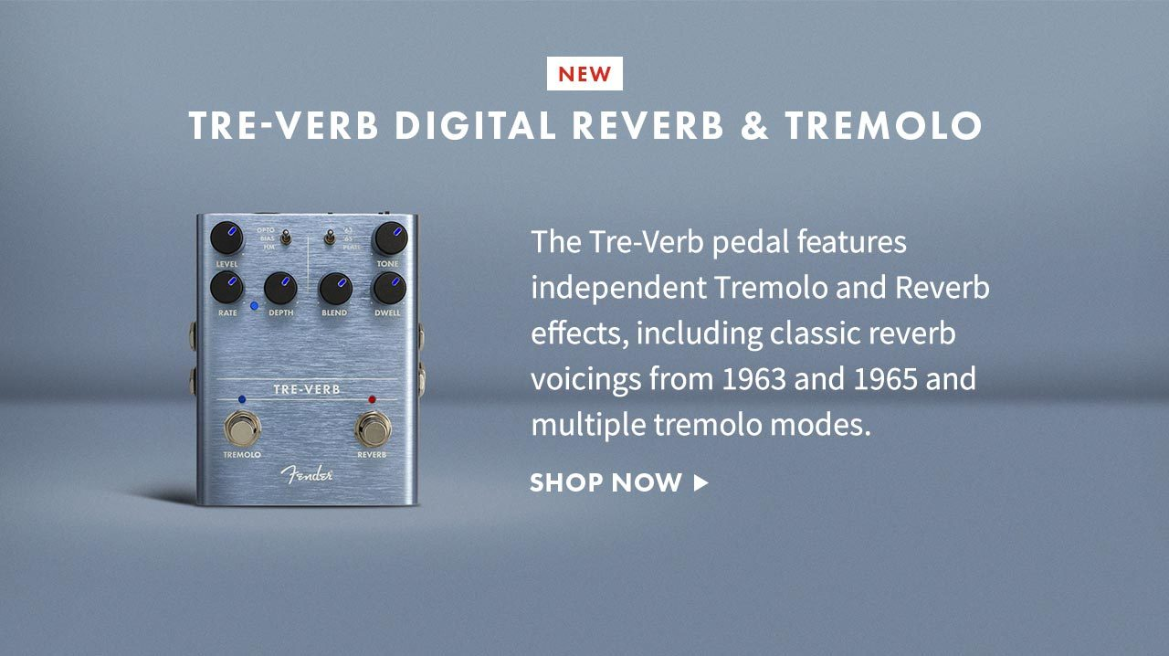Fender Tre-veb digital reverb and tremolo image