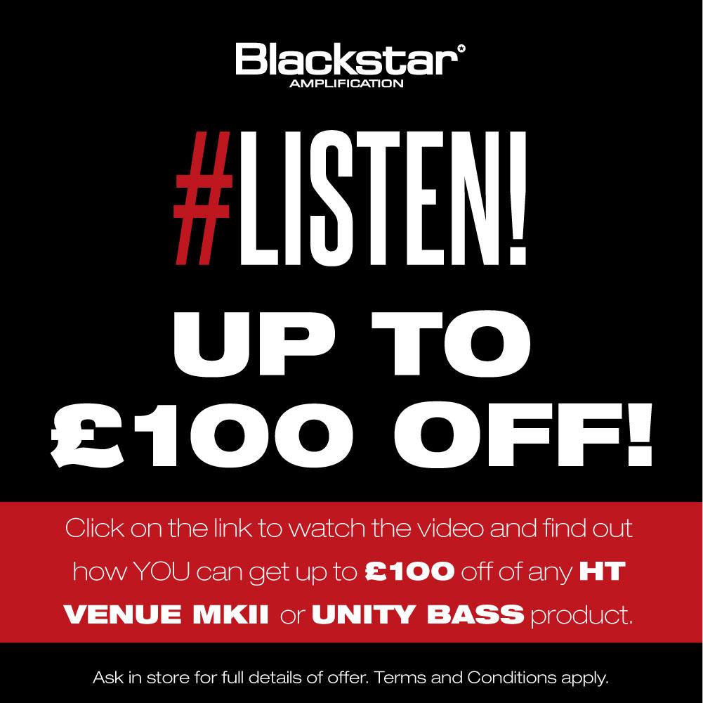 Blackstar U120 Unity Pro 120W 1x12 Bass Combo