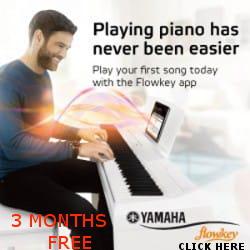 Yamaha P125 Digital Piano Black Advanced Package