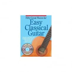 Amsco 50 Great Pieces For Easy Classical Guitar + CD