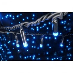 Fluxia 90 LED heavy duty static string light - Blue