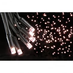 Fluxia 90 LED outdoor string light with control - Warm white