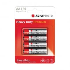 AGFA PHOTO Zinc Chloride Battery (Type AA Quantity 4)