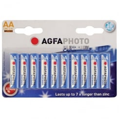 AGFA PHOTO Alkaline Batteries (Type AA Packing 10)