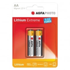 AGFA PHOTO Lithium Extreme Battery. Blister Card of 2 (Type AA)