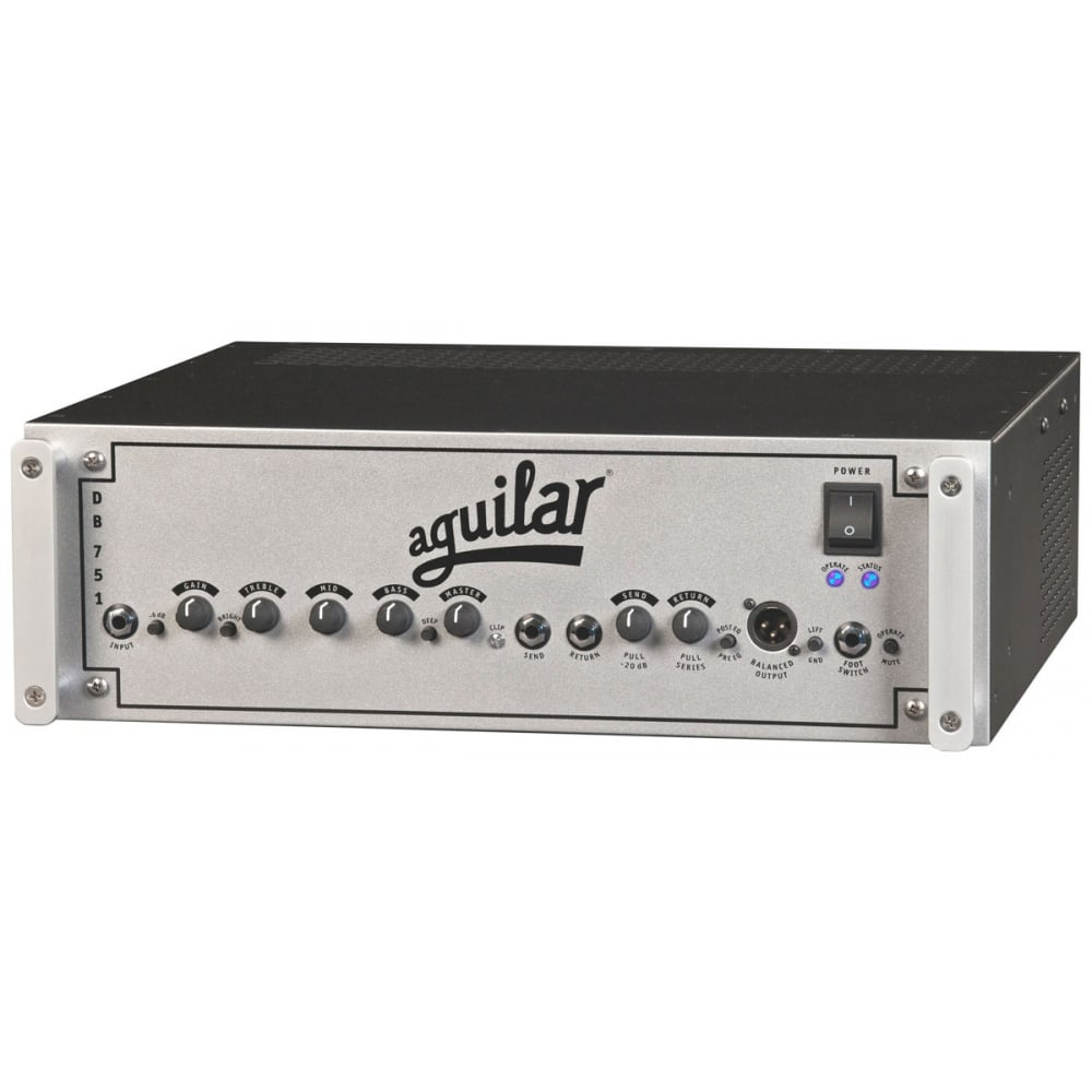 aguilar amplifier db751 bass head from rimmers music. Black Bedroom Furniture Sets. Home Design Ideas
