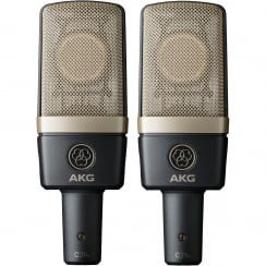 AKG C314 Multipattern Condenser Microphones | Matched Stereo Pair