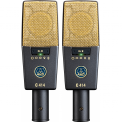 AKG C414-XLII Multipattern Condenser Microphones | Matched Stereo Pair