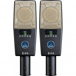 AKG C414-XLS Multipattern Condenser Microphones | Matched Stereo Pair