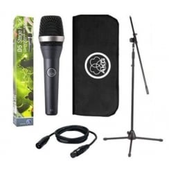 AKG D5 Stagepack | Dynamic Stage Vocal Microphone and Stand