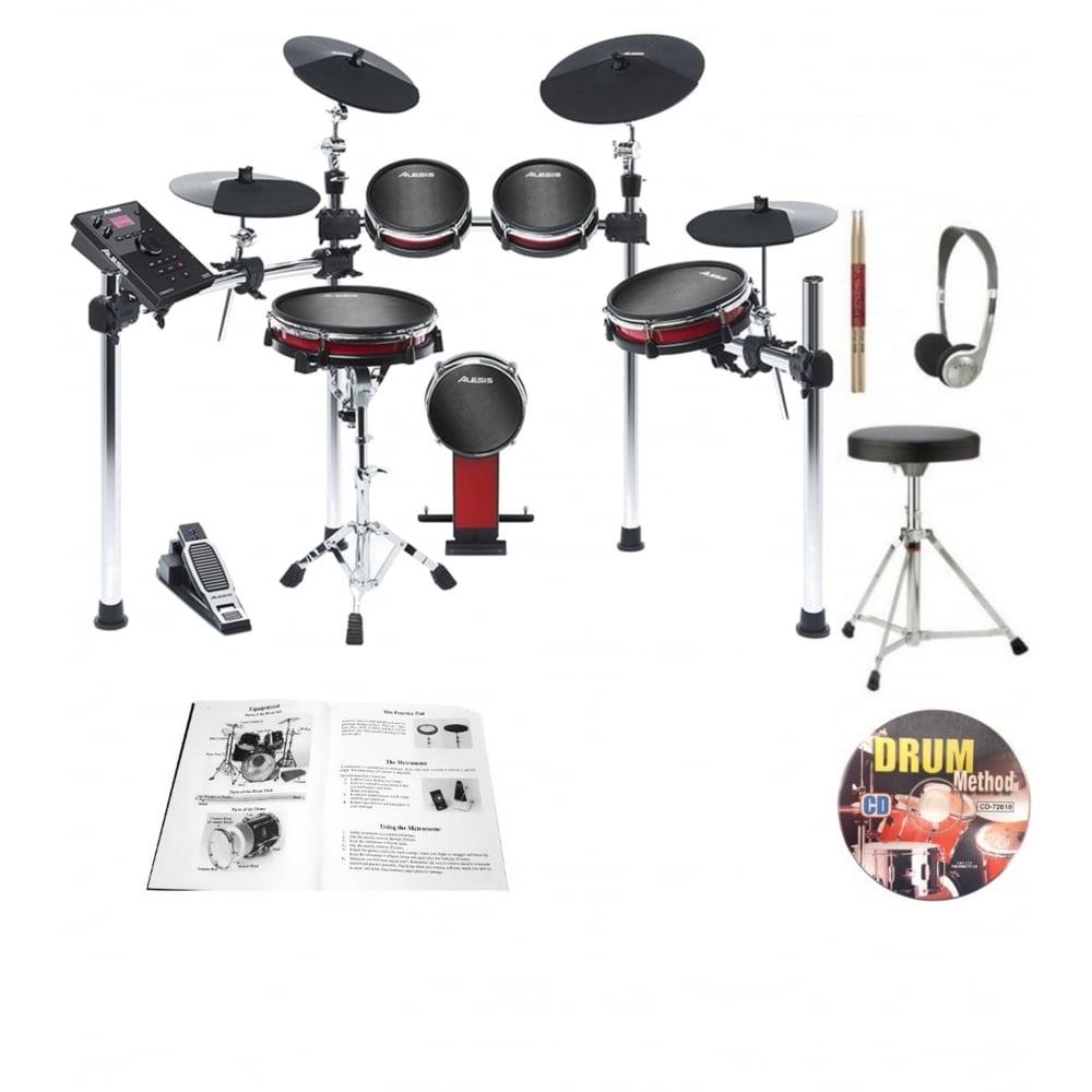 Alesis Crimson Ii Mesh Electronic Drum Kit Bundle