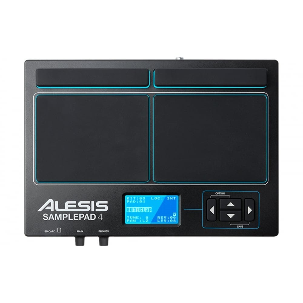 alesis sample pad 4 from rimmers music with uk mainland delivery. Black Bedroom Furniture Sets. Home Design Ideas