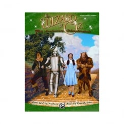 Wizard Of Oz 70th Anniversary Deluxe Songbook pvg
