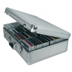 Citronic Aluminium CD flight case, 120 CDs.