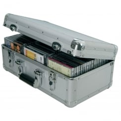 Citronic Aluminium CD flight case, 60 CDs