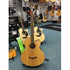 Alvarez AB60CE Electro Acoustic Bass Guitar | Natural | Ex Display