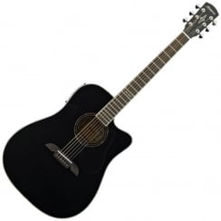 Alvarez AD60CE Dreadnought Electro Acoustic Guitar | Black