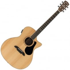 Alvarez AG60CE Grand Auditorium Electro Acoustic Guitar | Natural
