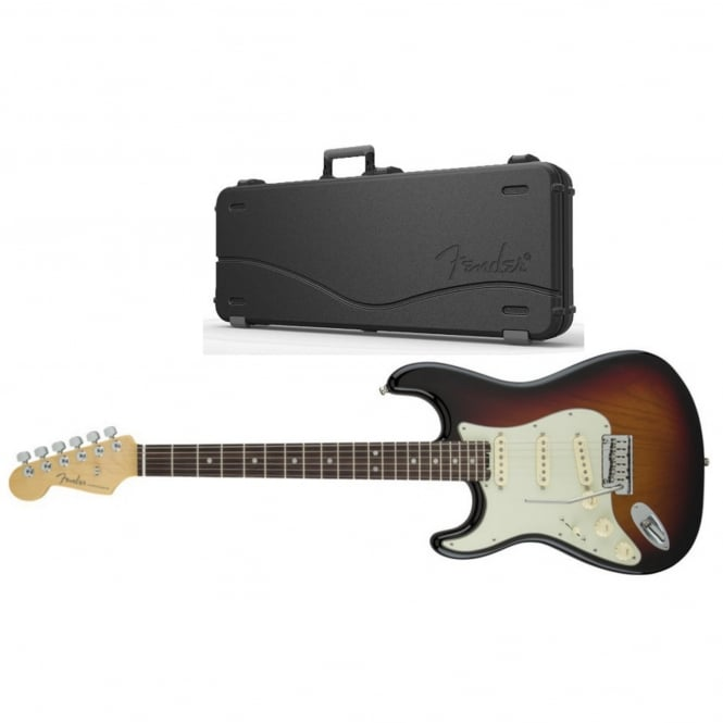 American Elite Stratocaster Left-Hand | Rosewood Fingerboard | 3-Color Sunburst