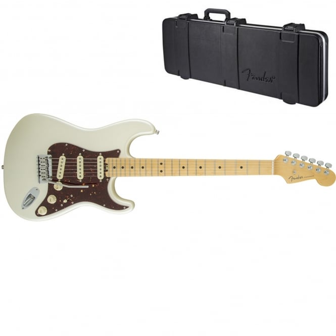 American Elite Stratocaster | Maple Fingerboard | Olympic Pearl | Includes Case