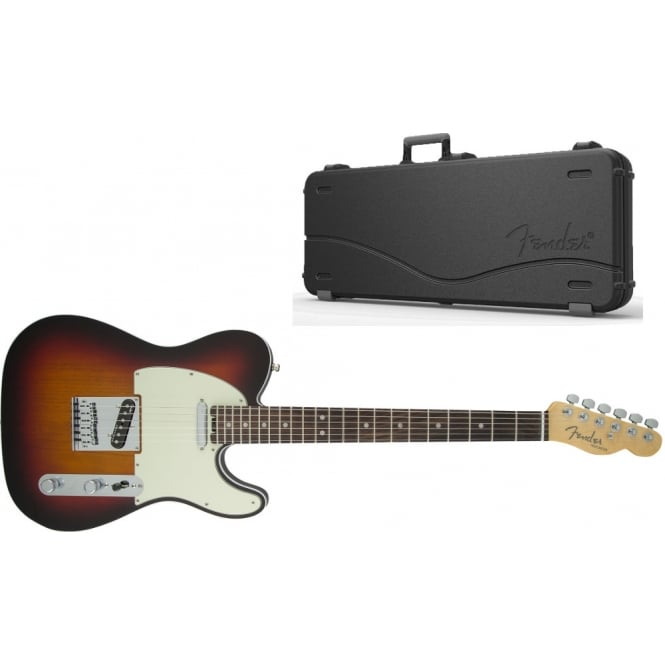 American Elite Telecaster | Maple Fingerboard | 3-Color Sunburst