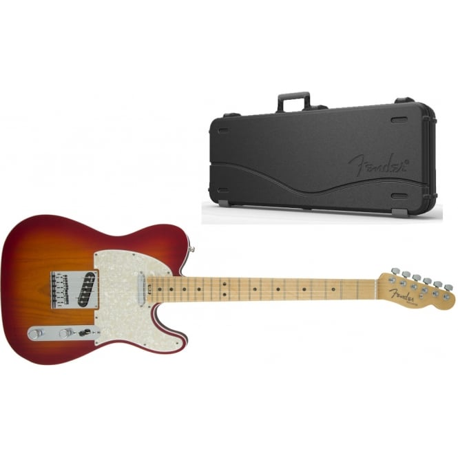 American Elite Telecaster | Maple Fingerboard | Aged Cherry Burst