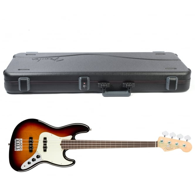 American Pro Jazz Bass | Fretless | Rosewood Fingerboard | 3-Color Sunburst