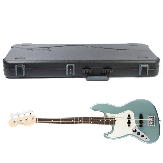 American Pro Jazz Bass | Left Handed | Rosewood Fingerboard | Sonic Gray