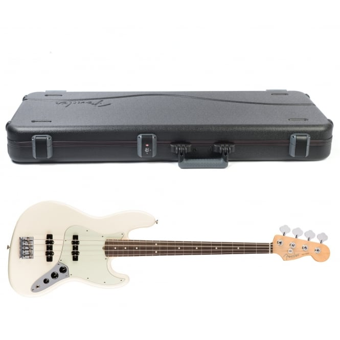 American Pro Jazz Bass | Rosewood Fingerboard | Olympic White